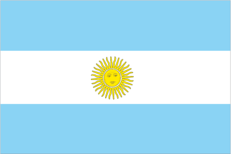 Flags of South American countries, part 1 – Argentina ... Official Argentina Flag